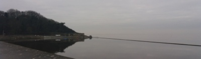 Very calm marine lake