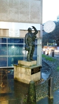 Tribute to the Bristol fire and rescue service