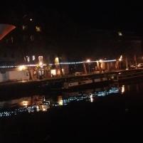 Illuminated water
