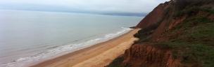 Devon Cliffs beach