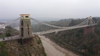 Bridge from the observatory