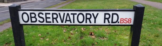 observatory-road-sign