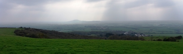 Distant view Brent Knoll